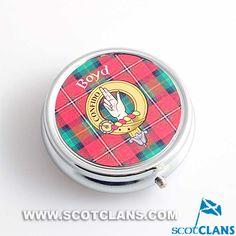 Boyd Clan Crest Pill