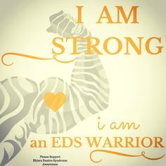 EDS Warrior Ehlers Danlos Syndrome Awareness