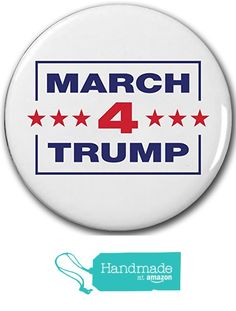 6 PACK! - MARCH 4 TRUMP!!! Buttons Pins Badges - New Release! SIX BUTTONS! from Meteor Storm Buttons https://www.amazon.com/dp/B06XFC761Z/ref=hnd_sw_r_pi_dp_Oj4UybAZ2DJRH #handmadeatamazon