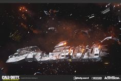 ArtStation - Call of Duty: Infinite Warfare Environments, Ryan Leslie