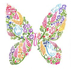 Decorative Butterfly by Wetpaint Design & Illustration, via Flickr