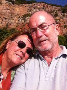A selfie we took at the beach near Sesimbra south of Lisbon