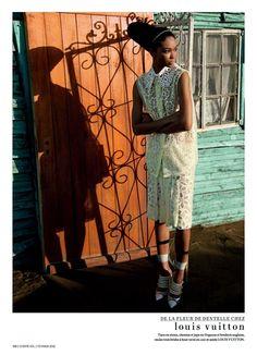 Chanel Iman for L'Officiel Paris February 2012