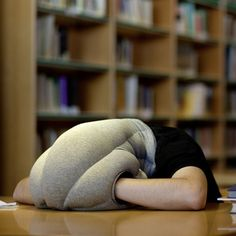 Ostrich Pillow: A Cushion For Napping On The Go