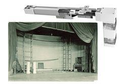 Fabricamos telones para teatros motorizados, desde los más pequeños de 10 metros de largo hasta 17 metros de longitud, que soportan 500 krs de peso, tejidos ignífugos M1 para telones de teatros. www.telonesmadisson.net