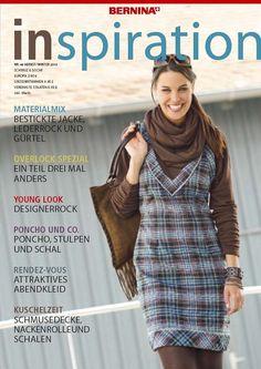 """Das BERNINA Magazin """"inspiration"""" ist ein Heft voll kreativer Ideen, Schnittmustern und Anleitungen. - BERNINA"""