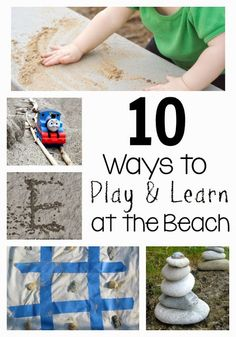 10 ways to play and learn at the beach!