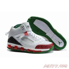 13691dad131 Air Jordan Homme Nike Air Jordan 3.5 Fusion Max Air Cushion Blanc Rouge Noir  Vert Sneakers