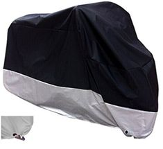 XYZCTEM All Season Black Waterproof Sun Motorcycle Cover Car Body Cover, Motorcycle Cleaner, Motorcycle Cover, Car Accessories, Yamaha, Outdoor Gear, Harley Davidson, Offroad, Honda