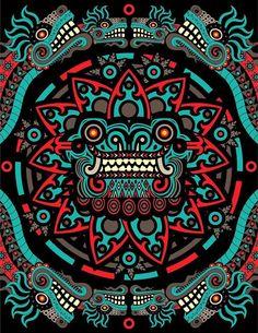 Quetzalcóatl por Adrián Acosta