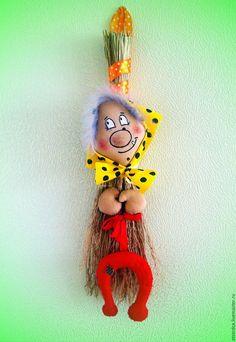 Ароматизированные куклы ручной работы. Ярмарка Мастеров - ручная работа. Купить Кофейный оберег Бабуся-Ягуся. Handmade. Коричневый, сувенир