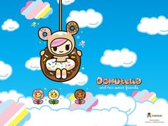 hd tokidoki backgrounds - Tokidoki Donutella Coloring Pages