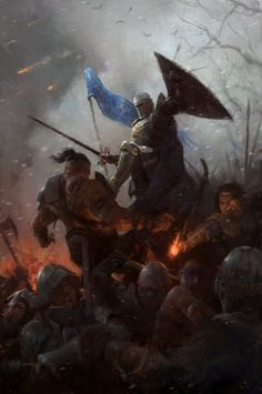 ArtStation - Art of War, John Anthony Di Giovanni Dark Fantasy Art, Fantasy Artwork, Fantasy Rpg, Medieval Fantasy, Fantasy World, Fantasy Warrior, Fantasy Battle, Fantasy Character Design, Character Art