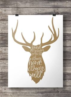 Loved You Yesterday Deer 8x10