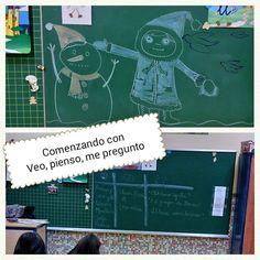 """MARISTAS OURENSE INF en Twitter: """"Rutinas de pensamiento en 3°A http://t.co/4qei81RqdO"""""""