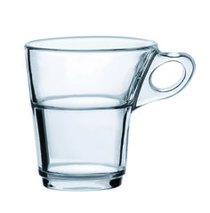 Duralex Caprice 3-ounce espresso mug, suggested retail price: $4 for one and $24 for a set of six