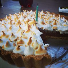 #S'mores #pie #chocolate #marshmallow