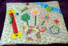 Michele Bilyeu Creates *With Heart and Hands*: Making Fidget Quilts for Alzheimer's Patients: Free Tutorials and Ideas