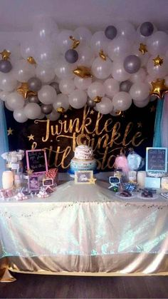 My gender reveal-- twinkle twinkle little star theme