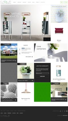 Cable Design Home Page Architecture Events, Ecommerce, Innovation, Cable, House Design, Modern, Projects, Desktop, Strong