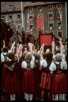 Nazi Germany - women going all in