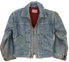 1950s Buckaroo Big Smith Denim Jacket for the baddest Toddler in Town. ballyhoovintage.com