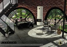 Sims 4 Designs: Big Ben Windows • Sims 4 Downloads