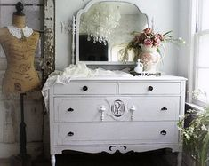 R E S E R V E D..................C H I P P Y Pink Dresser with