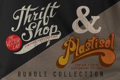 Graphic Design - Graphic Design Ideas  - Thrift Shop and Plastisol Bundle by TheVectorLab on Creative Market   Graphic Design Ideas :     – Picture :     – Description  Thrift Shop and Plastisol Bundle by TheVectorLab on Creative Market  -Read More –