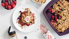 Powered Up Breakfast Crumble | Epicure.com Brunch Menu, Brunch Recipes, New Recipes, Whole Food Recipes, Breakfast Recipes, Breakfast Ideas, Breakfast Club, Brunch Ideas, Healthy Meals To Cook