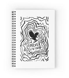 Forever Living: Black and White by Yetzenia Leiva