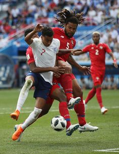 Jesse Lingard of England is fouled by Fidel Escobar of Panama inside the penalty area resulting in England being awarded a penalty during the Football Is Life, Football Players, World Cup 2018, Fifa World Cup, England World Cup Squad, Jesse Lingard, Manchester United, Martial, Panama