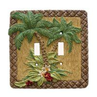 Cabinet Knobs & More, Cabinet Pulls & Hinges, Clothes Pin Pulls Switch Plate Covers, Light Switch Plates, Light Switch Covers, Palm Tree Lights, Palm Trees, Outlet Covers, Lowes Home Improvements, Tree Wall, Plates On Wall