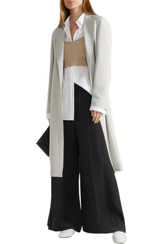 Shop on-sale Calvin Klein Collection Cady trench coat. Browse other discount designer Coats & more on The Most Fashionable Fashion Outlet, THE OUTNET.COM
