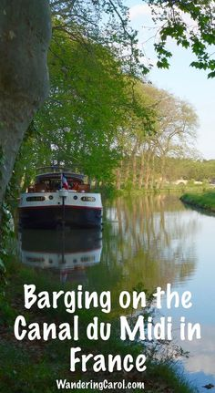 If you love slow travel, you'll enjoy barging on the Canal du Midi in France. My luxury barge holiday on the Athos was a week of fine cuisine, historic tours and excellent Languedoc wines.: