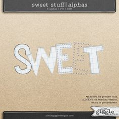 {Sweet Stuff} Bundle by A Little Giggle Designs