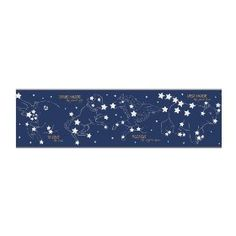 York Wallcoverings Candice Olson Kids CK7726B Constellation Border, Blue $9.50