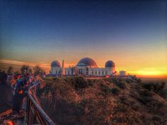 Griffith Observatory, Los Angeles, California — by Someone Lost Pacific Coast, West Coast, Beautiful Sunset, Beautiful Places, Visit Los Angeles, Griffith Observatory, City Of Angels, California Dreamin', Sunset Photos