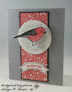 Windy's Wonderful Creations: PP301 O, Happy Day Bird!
