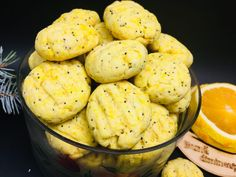 Biscuiti cu mac si portocala - NoiInBucatarie Baby Food Recipes, Mashed Potatoes, Cauliflower, Cookies, Vegetables, Ethnic Recipes, Cooking, Recipes For Baby Food, Whipped Potatoes