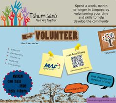 Volunteer with MAF in Limpopo, South Africa