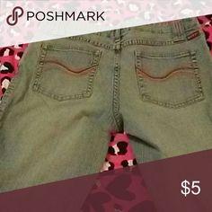 Tilt jeans Old ends cut off from wear tilt Jeans