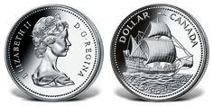 Srebrna moneta kanadyjska