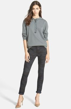Stateside French Terry Hoodie & James Jeans Camo Leggings  available at #Nordstrom