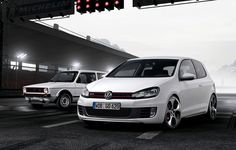 Golf GTI | MK1 - MK6 | volkswagen  Waaaaaaant...But BLK on BLK <3