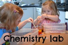 Science experiments and activity ideas for 4 and 5 year olds