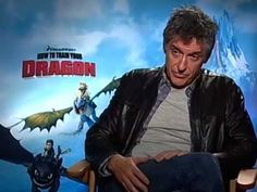 How to Train Your Dragon - Craig Ferguson Interview =Craig is brilliant with this kid!