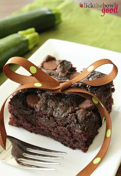 Zucchini brownies. Moist beyond belief. I substituted coconut oil for the canola. And instead of 1 1/2 cups of granulated sugar, I used 1 cup granulated and 1/2 cup coconut palm sugar. Also, use white whole wheat flour in place half of the recommended all-purpose flour. If you want them extra thick, put them in a 9 x 9 pan; cook for an extra (say) 10-20 minutes.