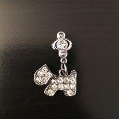 Scottish Terrier dog pendant Pendant for necklace or bracelet. No rhinestones missing. Excellent condition. Jewelry Bracelets