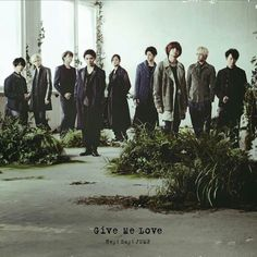 Jacket covers of Give me love single is out!!! Yooohoo!!  #heysayjump #givemelove